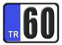 60 Tokat plaka kodu