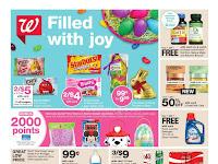 Walgreens Weekly Ad March 25 - 31, 2018