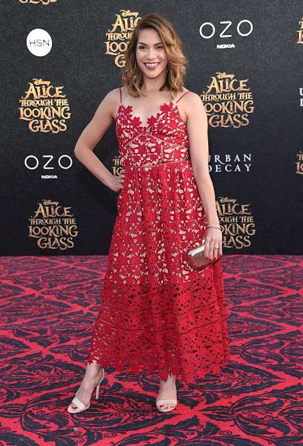 Dancer, @ Allison Holker - 'Alice Through The Looking Glass' Premiere in Hollywood