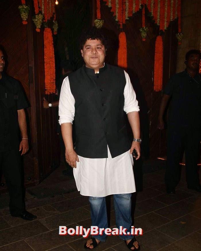 Sajid Khan, Photos from Amitabh Bachchan's Diwali Bash 2014