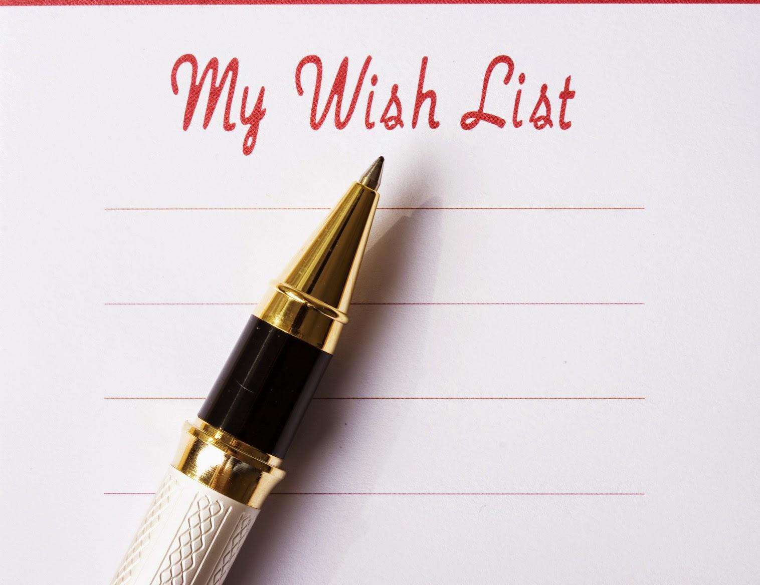 Mi wishlist navideña
