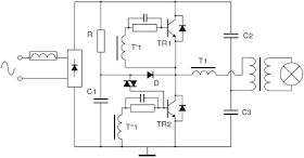 Project station: 12V Halogen Lamp Electronics Transformer