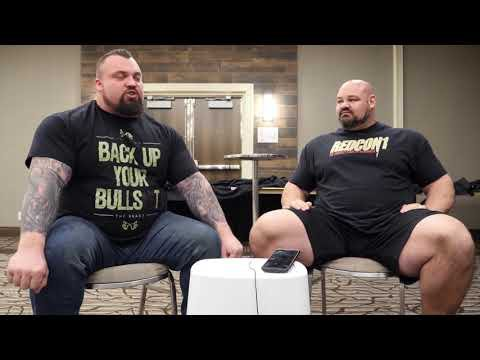 'Back Up Your Bullshit' t-shirt as worn by World's Strongest Man and Deadlift World Record holder Eddie Hall. PYGear.com