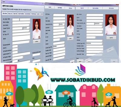 Aplikasi Buku Induk Siswa dan Guru SD,SMP,SMA,SMK  Terbaru
