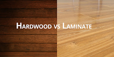 Hardwood vs Laminated floor Stafford VA