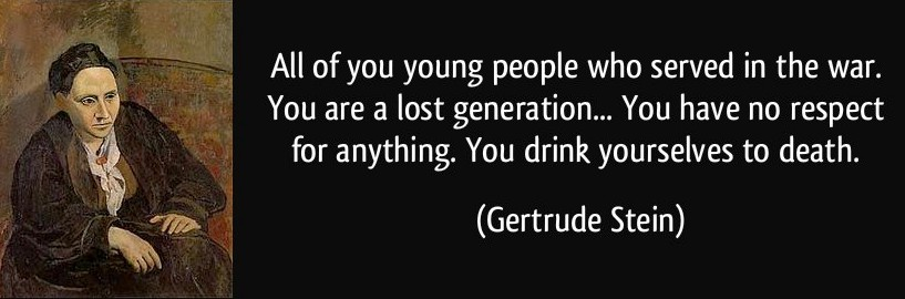 lost generation vs beat generation Generation x has a gripe with pulse takers, zeitgeist keepers, and population counters we keep squeezing them out of the frame.