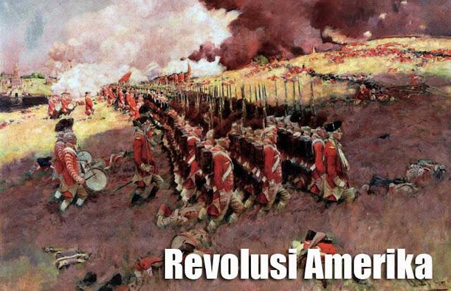Gambar ilustrasi Latar belakang Revolusi Amerika