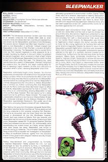 Sleepwalker Comics