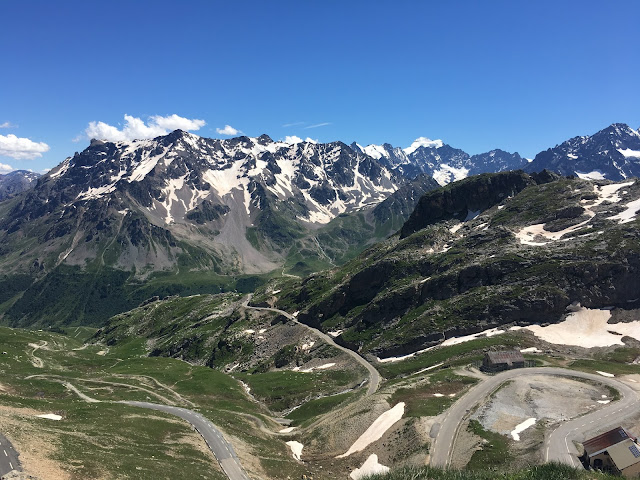 Col du Galibier descent