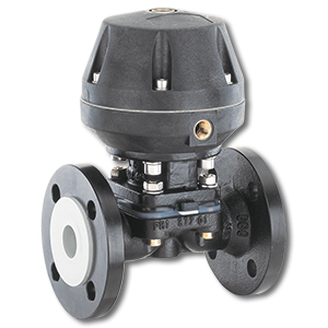 pneumatically operated diaphragm valve industrial valve