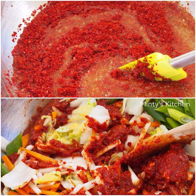 "Minty's Kitchen: Mak (""Easy"") Kimchi"