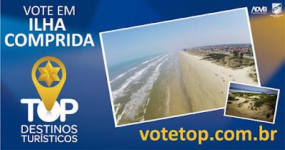 Ilha participa do concurso cidade Top Destinos Turísticos 2017