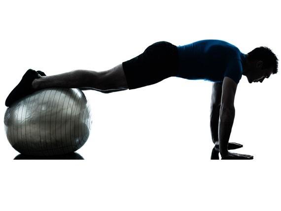 Tablón con Balón Elevado, ejercicios