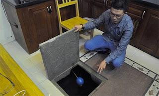 Vệ sinh thau rửa bồn nước