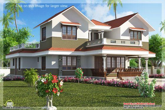 Beautiful Kerala villa