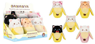 Asst: Bananya plush - 6PC PDQ