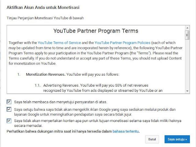 Cara Monetisasi Video Youtube dengan Mudah