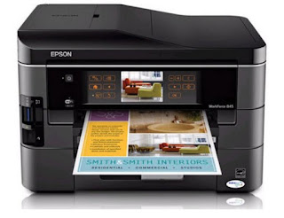 Epson WorkForce WF-845 Drivers Download