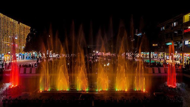 sector 17 chandigarh fountain