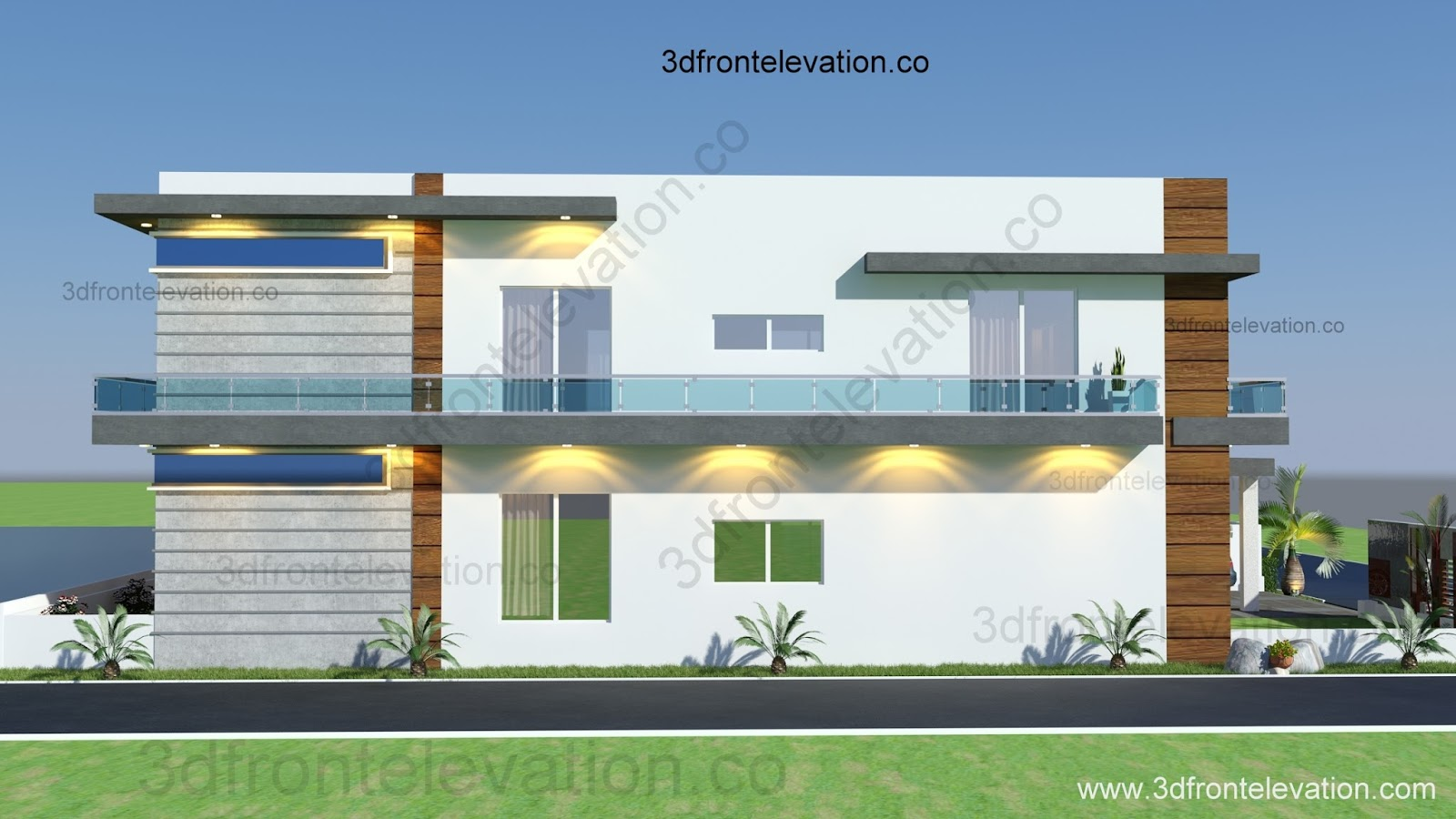 3d front 10 marla houses design islamabad for 10 marla home designs