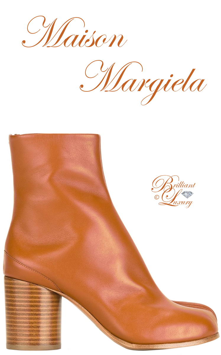 Brilliant Luxury ♦ Maison Margiela Tabi Boots