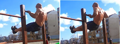 High pull up - explosive pull up