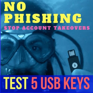 USB two factor authentication keys review 5 best