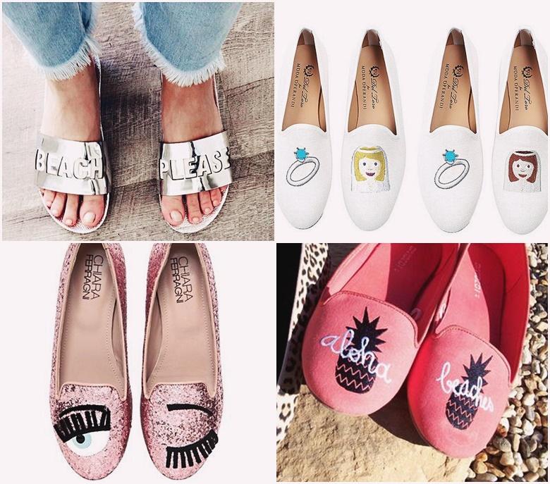 Sapato divertido lembrancinhas ideias madrinhas casamento
