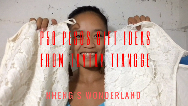 P50 Pesos Gift Ideas From Taytay Tiangge