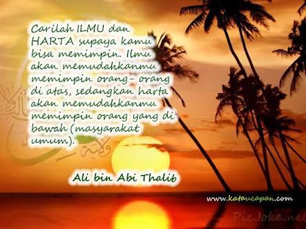 3 Pesan Ali Bin Abithalib Bagi Kita Berbagi Pengetahuan