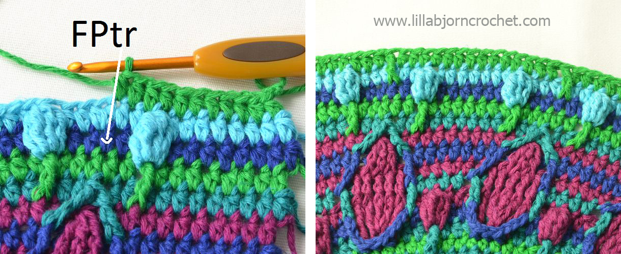 ... of a nice colorful bag by Lilla Bjorn Crochet. FREE crochet pattern
