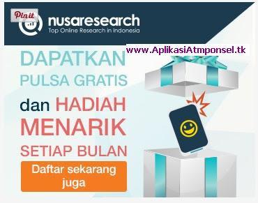 Survei Online Hadiah uang terbesar di Nusaresearch