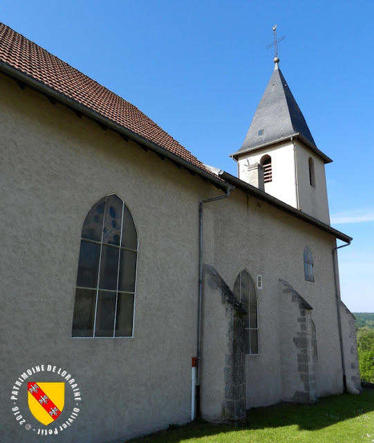 LOREY (54) - Eglise de la Sainte-Croix (XIVe-XVIe siècle)