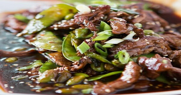 Beef With Snow Peas And Edamame Recipe