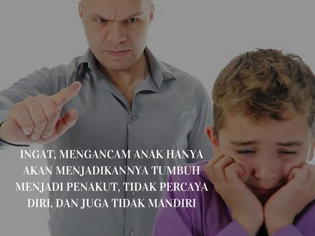 Ini Dampak Buruk Mendidik Anak Dengan Pola Asuh Mengancam!