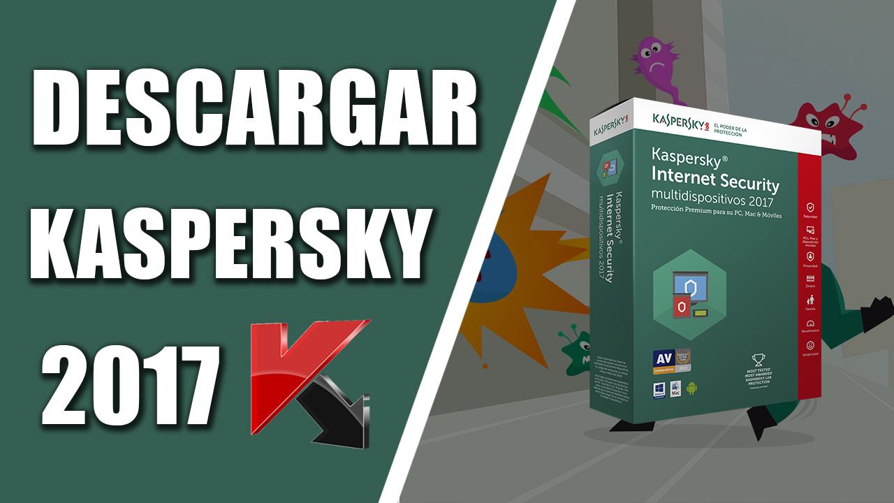 descargar kaspersky 2016 gratis en español full