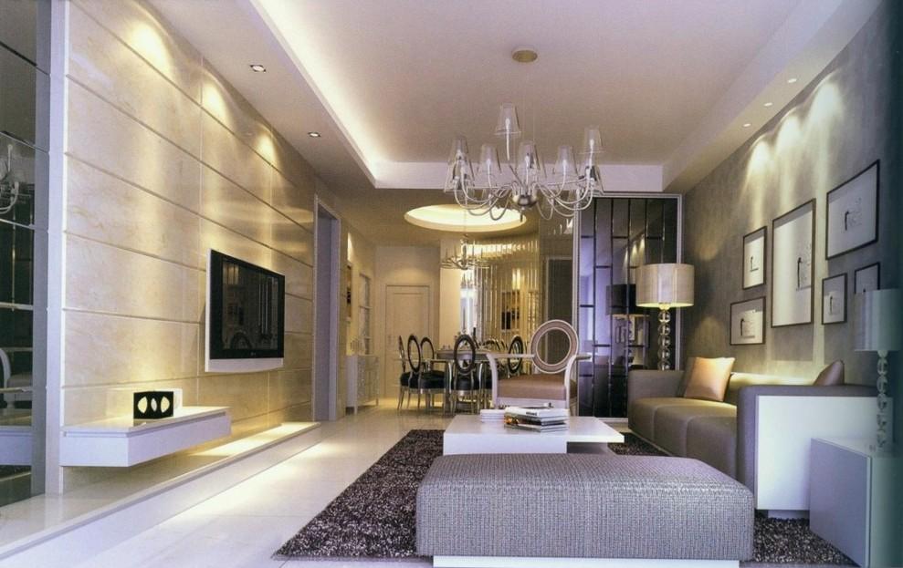 Illuminazione Soggiorni Moderni | Cheminfaisant