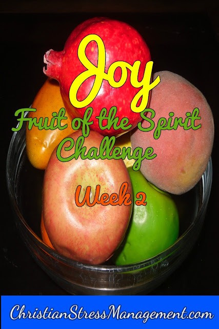 Fruit of the Spirit challenge Joy Week