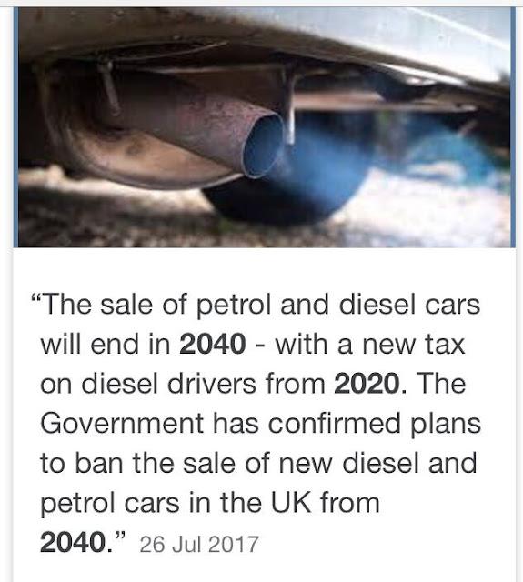 Vehicle tax hikes on petrol and diesel cars