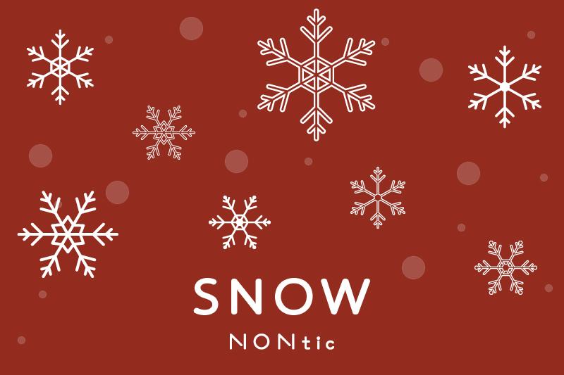 NONtic 雪の結晶素材