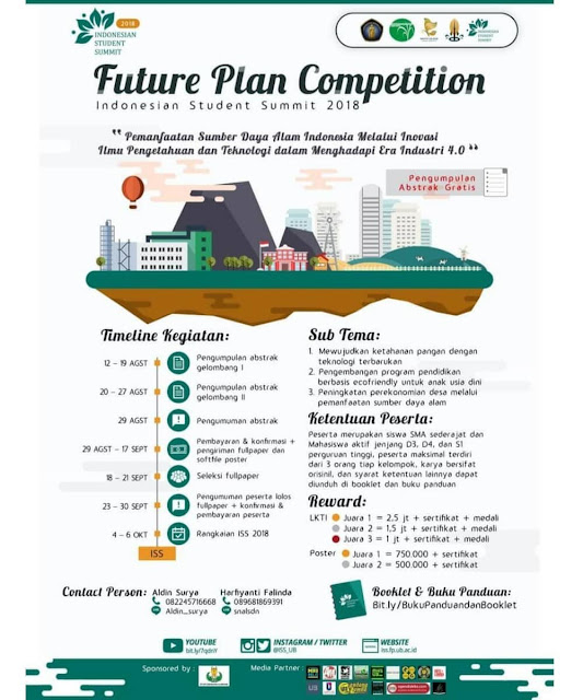 Contest Future Plan Competition 2018