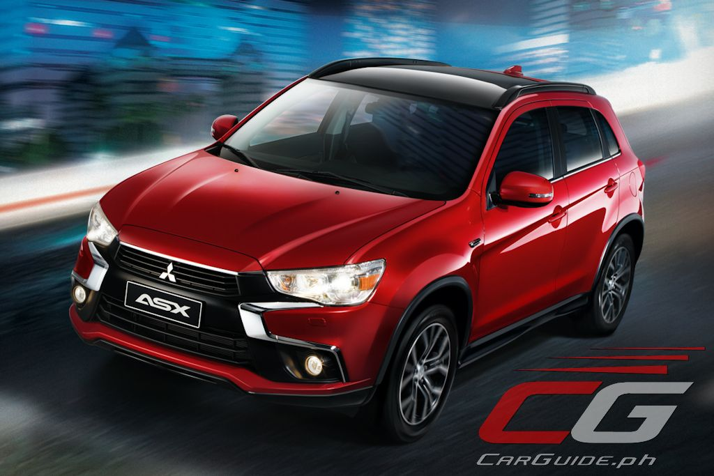 2017 mitsubishi asx now available in the philippines philippine car news car reviews. Black Bedroom Furniture Sets. Home Design Ideas