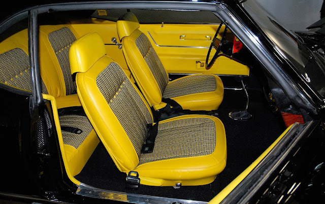 just a car guy there is only one yellow interior black exterior 1969 427 copo camaro. Black Bedroom Furniture Sets. Home Design Ideas