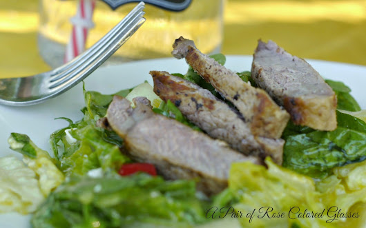Spectacular Steak Salad