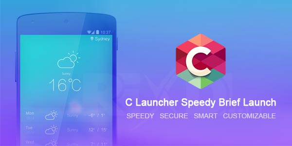 C Launcher Stabil Tema Uygulaması - Android