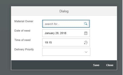 SAP UI5 - Starters: Simple Dialog Box -SAPUI5
