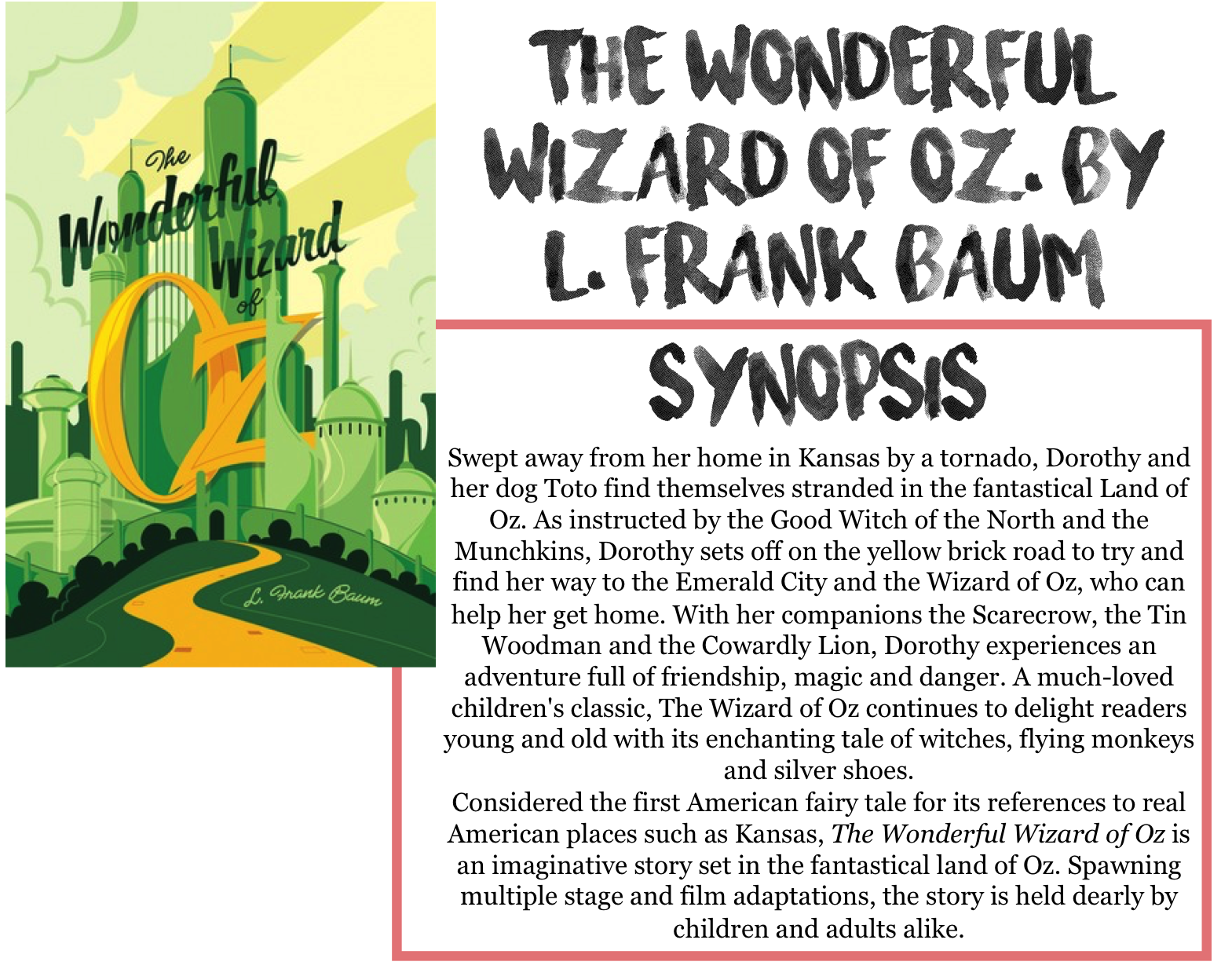 9780141325606 - The Wizard of Oz by L. Frank Baum
