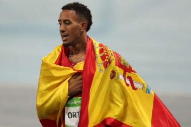 El atleta reiteró su agradecimiento a España por la oportunidad brindada