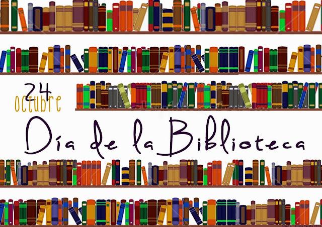 A vuela pluma. 24 de octubre. Día Internacional de las Bibliote