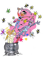 swap blog littéraire jeunesse album coloriage maman bibliza Blake recette de contes de fées